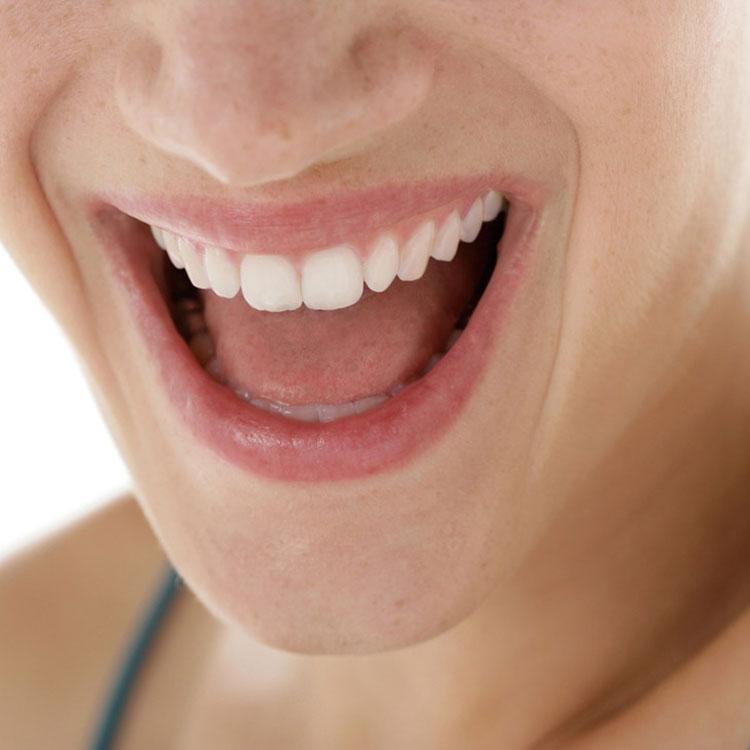 Professionelle Zahnreinigung Lächeln