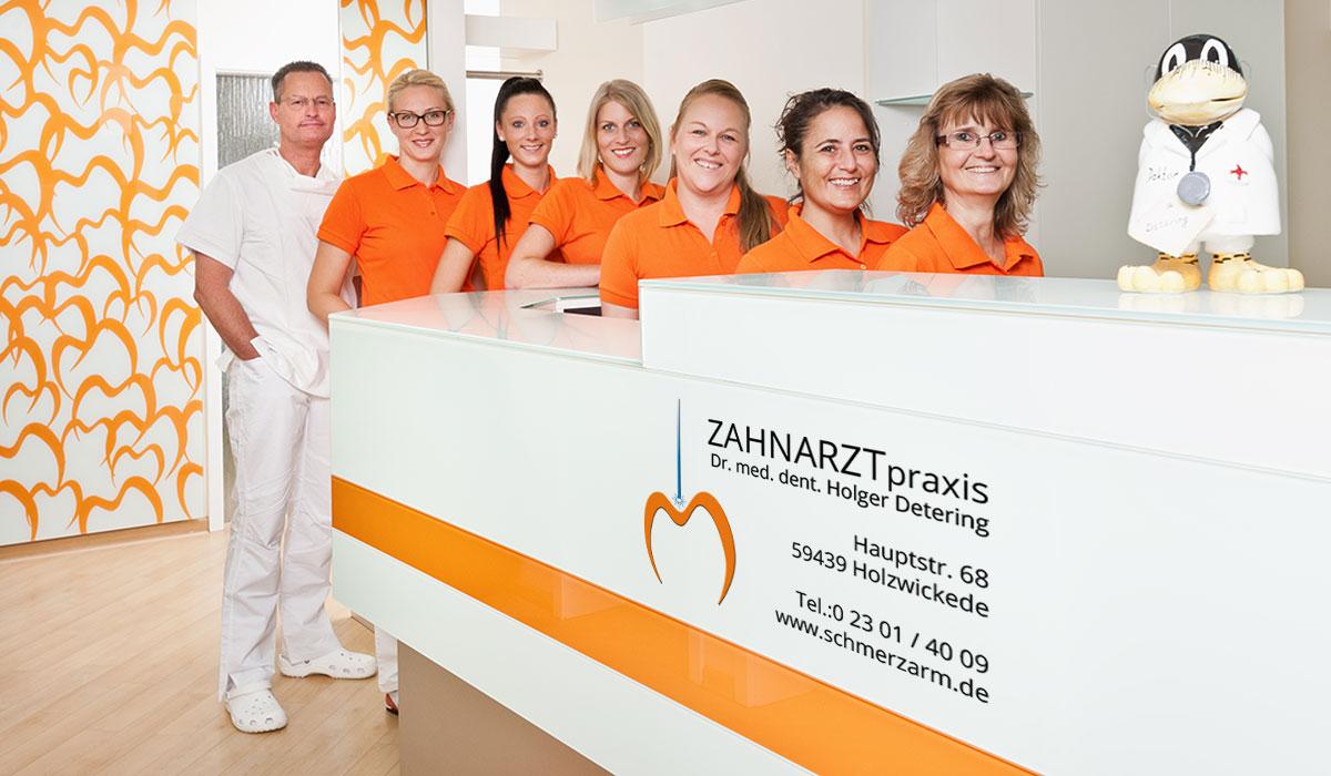 Zahnarztpraxis Dr. med. dent. Holger Detering Empfang